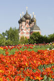 Moskau, orthodoxe Kirche Stockbild