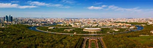 Moskau, Panorama Lizenzfreie Stockbilder