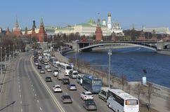 Moskau, Panorama der Stadt Stockfoto