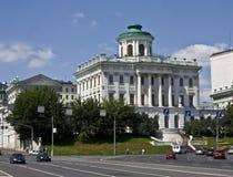 Moskau, Pashkov-Haus Stockfoto