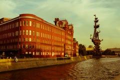 Moskau Petr I Stockbilder