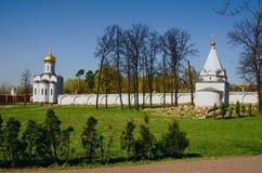 MOSKAU-REGION, KLOSTER Stockfoto