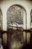 moskau Rostokinsky-Aquädukt bogen Lizenzfreie Stockbilder
