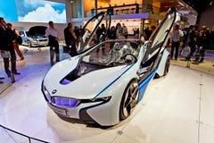 MOSKAU, RUSSLAND - 26. AUGUST: BMW-Konzept Stockbild