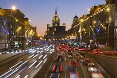 Moskau Russland Stockbilder
