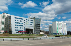 Moskau, Russland 24. April 2016 Polyclinic Nr. 201 in Zelenograd Stockbilder