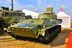MOSKAU, RUSSLAND - AUGUST 2015: SNAR-10 großer Fred dargestellt am 12t Stockfotos