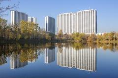 Moskau, Russland, Izmailovo-Hotelkomplex lizenzfreies stockbild