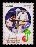 MOSKAU, RUSSLAND - 26. JUNI 2017: Ein Stempel, der in Kuba gedruckt wird, zeigt BO Stockfoto