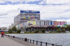 MOSKAU, RUSSLAND - 20. JUNI: Ostankino-technisches Zentrum - televis Lizenzfreie Stockbilder
