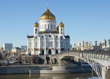 MOSKAU, RUSSLAND, KATHEDRALE Lizenzfreies Stockbild
