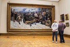 MOSKAU, RUSSLAND 1. MÄRZ: Der Zustand Tretjakow Art Gallery in Mosco Lizenzfreie Stockfotos
