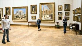 MOSKAU, RUSSLAND 1. MÄRZ: Der Zustand Tretjakow Art Gallery in Moskau Lizenzfreie Stockbilder