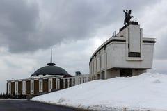 Moskau, Russland - 22. März 2018: Zentrales Museum des großen patriotischen Krieges von 1941-1945 in Victory Park Stockfotos