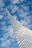 MOSKAU, RUSSLAND - 20. MAI 2009: Monument zu den Eroberern von Spase Lizenzfreie Stockfotos
