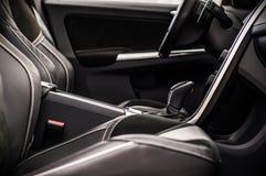 MOSKAU, RUSSLAND - 20. Mai 2017 POLESTAR VOLVOS XC60, inerior Ansicht Test von neuem Polestar Volvos XC60 Dieses Auto ist AWD kom Lizenzfreies Stockfoto