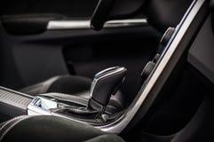 MOSKAU, RUSSLAND - 20. Mai 2017 POLESTAR VOLVOS XC60, inerior Ansicht Test von neuem Polestar Volvos XC60 Dieses Auto ist AWD kom Stockfotos