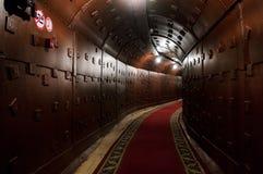 Moskau, Russland - 25. Oktober 2017: Legen Sie an Bunker-42, die Anti-Atom Untertageanlage einen tunnel an, die im Jahre 1956 als Stockbilder
