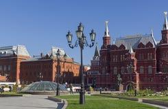 Moskau, Russland Pseudo-russische Art in der Architektur lizenzfreie stockfotografie
