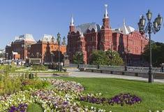 Moskau, Russland Pseudo-russische Art in der Architektur lizenzfreie stockbilder
