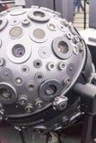 MOSKAU, RUSSLAND - 28. SEPTEMBER: Der optomechanische Cosmorama-Projektor des Planetariums in Moskau Die Planetariumsgeschenke lizenzfreie stockfotos