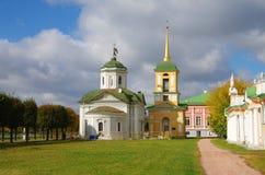 MOSKAU, RUSSLAND - 28. September 2014: Kuskovo-Zustand der Sheremetev-Familie Lizenzfreies Stockfoto