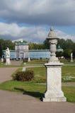 MOSKAU, RUSSLAND - 28. September 2014: Kuskovo-Zustand des Shere Stockbild