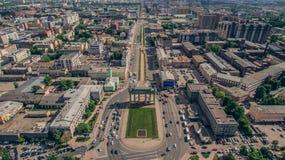 Moskau-Siegestor in St Petersburg Lizenzfreie Stockbilder