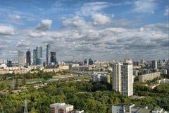Moskau-Stadt Stockbild