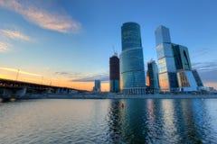 Moskau-Stadt Stockfotografie