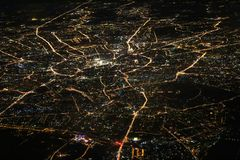 Moskau-Stadt Stockfotos