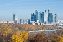 Moskau-Stadt Lizenzfreie Stockfotografie