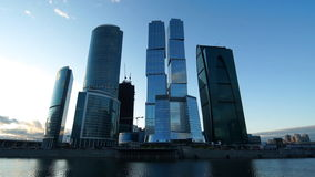 Moskau-Stadt stock video footage