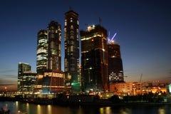 Moskau-Stadt Stockfoto