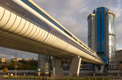 Moskau-Stadt Geschäftszentrum Stockfotografie