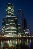 Moskau-Stadt Geschäftszentrum Stockbild