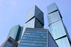 Moskau-Stadt-Geschäftszentrum stockfotografie