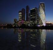 Moskau-Stadt, Russland Stockfotos