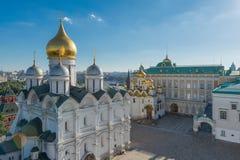Moskau-Stadtansicht, Russland-/ÐœÐ-¾ Ñ  кР² а, ¾Ñ Ð Ð  Ñ  Ð¸Ñ  Stockfotografie