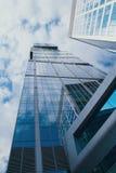 Moskau-StadtGeschäftszentrum. Lizenzfreie Stockbilder