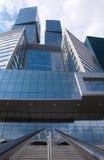 Moskau-StadtGeschäftszentrum. Lizenzfreies Stockbild