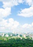 Moskau-Stadtlandschaft; Lizenzfreies Stockbild