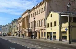 Moskau, Stadtlandschaft Stockfotografie
