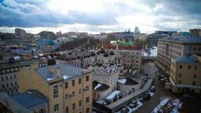 Moskau-Stadtzentrumansicht stockfoto