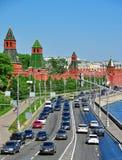 Moskau-Stau Stockbilder