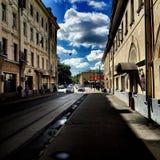 Moskau-Straße Stockbild