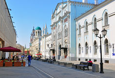 Moskau-Straße Stockbilder