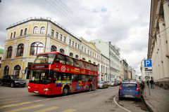 Moskau-Straße Lizenzfreie Stockfotografie
