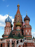 Moskau-Türme des Heilig-Basilikums das gesegnete im Mai 2011 Lizenzfreie Stockbilder