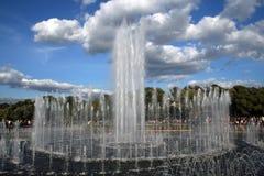 Moskau am Tag. Tsaritsyno Lizenzfreies Stockfoto